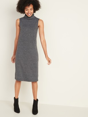 Old Navy Sleeveless Turtleneck Jersey Shift Dress for Women