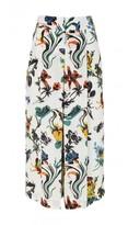 Tibi Gothic Floral Nerd Pants