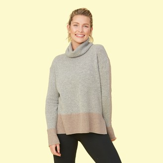 Summersalt The Coziest Cashmere Turtleneck - Camel & Wolf