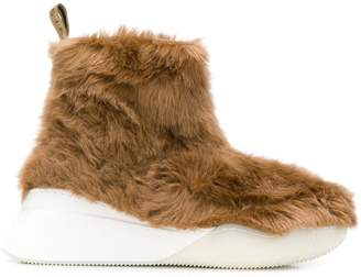 Stella McCartney ankle faux-fur boots