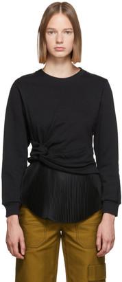 3.1 Phillip Lim Black Twist Sweater