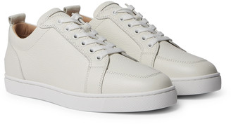 Christian Louboutin Rantulow Full-Grain Leather Sneakers