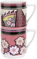 Ted Baker Tribalmix Stacking Mugs