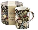 Portmeirion Strawberry Thief Mug, 0.35L Chocolate