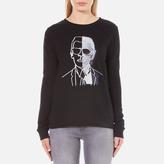 Karl Lagerfeld Women's Photo Sweatshirt Black