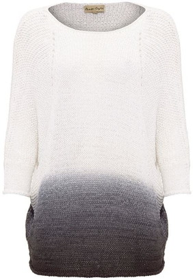 Phase Eight Aideen Dip Dye Tape Yarn Knitted Jumper