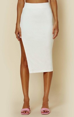 Stillwater Flirt Rib Edit Skirt