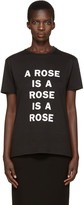 6397 Black a Rose Is T-shirt