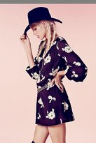 Free People Embroidered Austin Dress