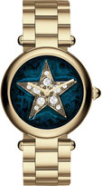 Marc Jacobs MJ3478 Dotty gold-plated stainless steel watch