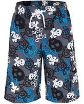 Snapper Rock Skull and Crossbones UV Board Shorts