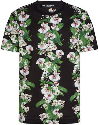 Dolce & Gabbana Floral Geometric T-Shirt