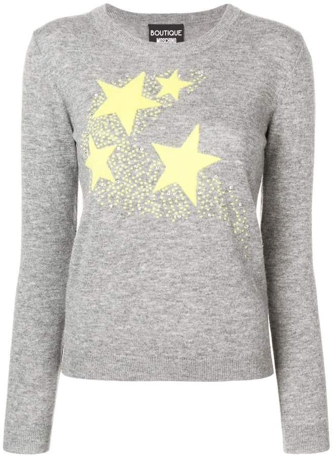 5b11cfa5c52 stars knit sweater
