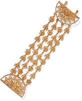 Oscar de la Renta Ornate Gold-tone Bracelet - one size
