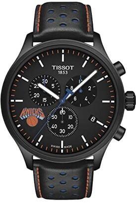 Tissot Chrono XL NBA Chronograph New York Knicks - T1166173605105 (Black/Black/Blue) Watches