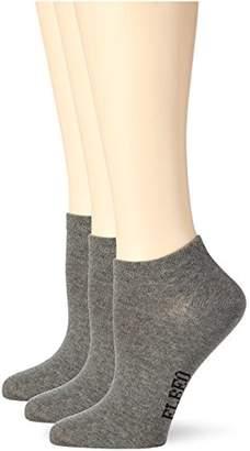 Elbeo Women's 906607 Ankle Socks,(pack of 3)