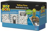 Educational Insights Hot Dots Math Flash Cards - Telling Time