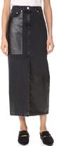 McQ Alexander McQueen Recycled Tube Skirt