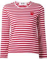 Comme des Garcons long sleeve striped T-shirt