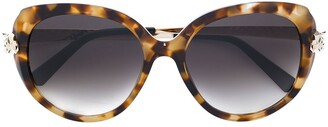 Cartier Panthere Wild oversized-frame sunglasses