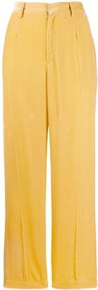 Forte Forte Vaniglia velvet trousers
