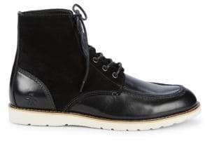Original Penguin Ned Leather Loafer Ankle Boots