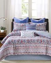 Echo Woodstock Floral Paisley-Print Full Reversible Comforter Set