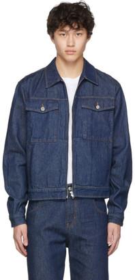 Random Identities Blue Denim Jacket