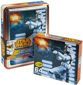 Crayola Star Wars Storm Trooper Collectible Tin, 64 Count Crayons Toy