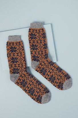 Catherine Tough Fairisle Socks