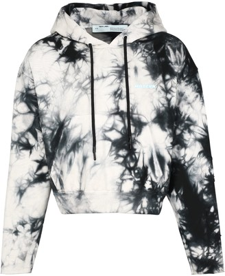 Off-White Tie-dye Cotton Hoodie