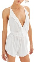 Topshop Women's Jersey Wrap Cover-Up Romper