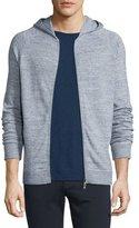 Vince Jaspe Raglan-Sleeve Hooded Jacket, Herring