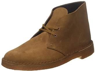 Clarks Desert Boot, Men's Derby, Braun (Cola Suede)