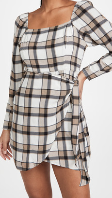 Rahi Puff Sleeve Mini Dress