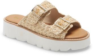 BC Footwear Hand To Hold Platform Sandal