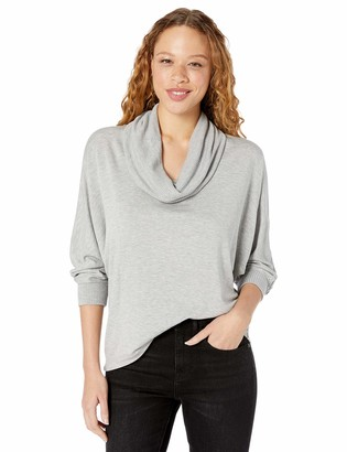 Splendid Women's Cowl Neck Pullover Sweater