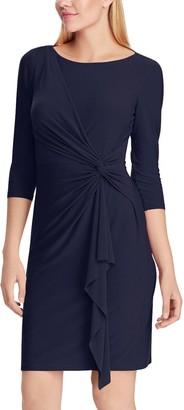 Chaps Women's 3/4 Sleeve Sheath Dress