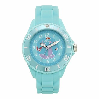 S'Oliver Girl's Analogue Quartz Watch with Silicone Strap SO-4317-PQ