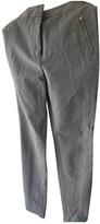 Carolina Herrera Grey Trousers for Women