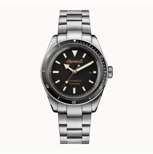 Ingersoll Scovill Automatic with Stainless Steel Case and Bracelet and Black Dial