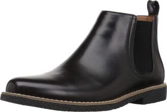 Deer Stags Boys' Zane Memory Foam Dress Comfort Chelsea Boot