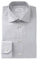 Eton Printed Contemporary Fit Dress Shirt