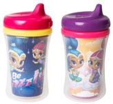 NUK Shimmer and Shine Ins Cup 2pk - Clear