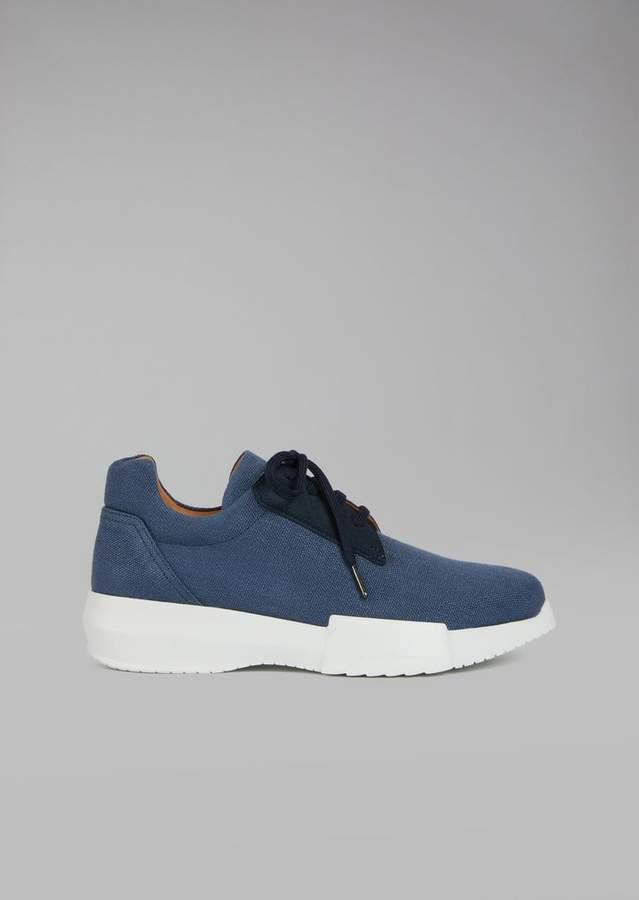 Giorgio Armani Canvas Sneakers