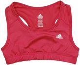 adidas Big Girl's Techfit Solid Color Bra (Small (7/8), )