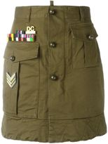 DSQUARED2 'Golden Arrow' skirt