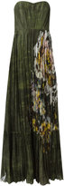 Valentino garden print gown - women - Silk/Cotton - 40
