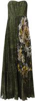Valentino garden print gown