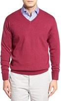 Peter Millar Men's Merino Wool V-Neck Sweater
